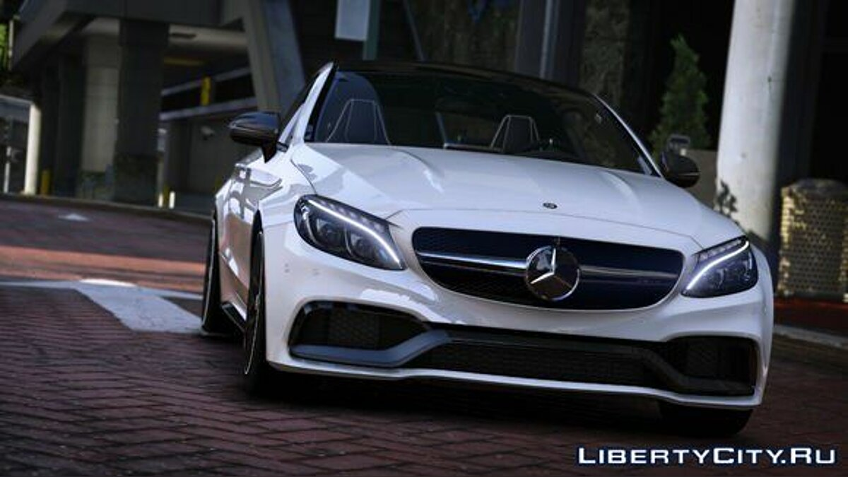 Mercedes Benz AMG C 63 S Coupe 2016 1.0 для GTA 5