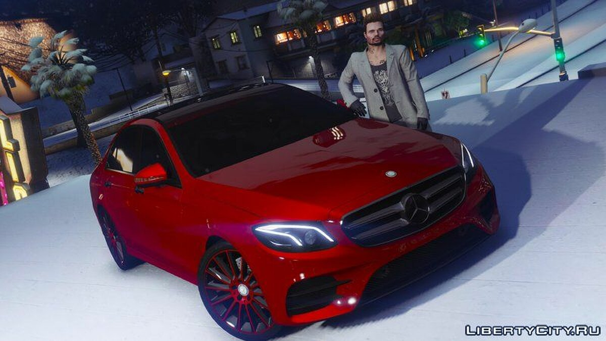 2017 Mercedes E400 W213 [Add-on / Replace] для GTA 5