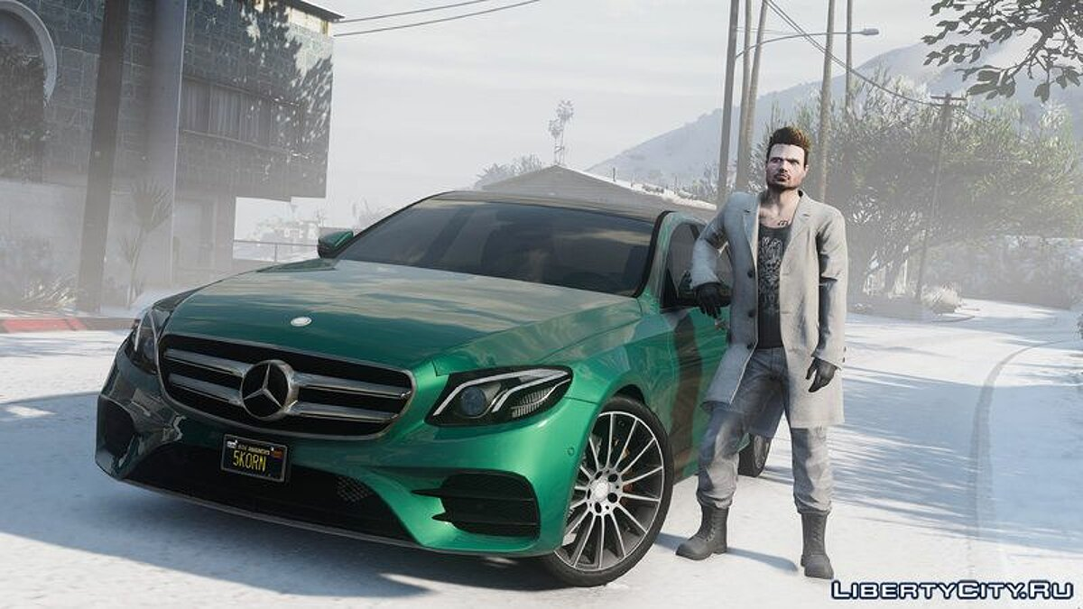 2017 Mercedes E400 W213 [Add-on / Replace] для GTA 5 - скриншот #3
