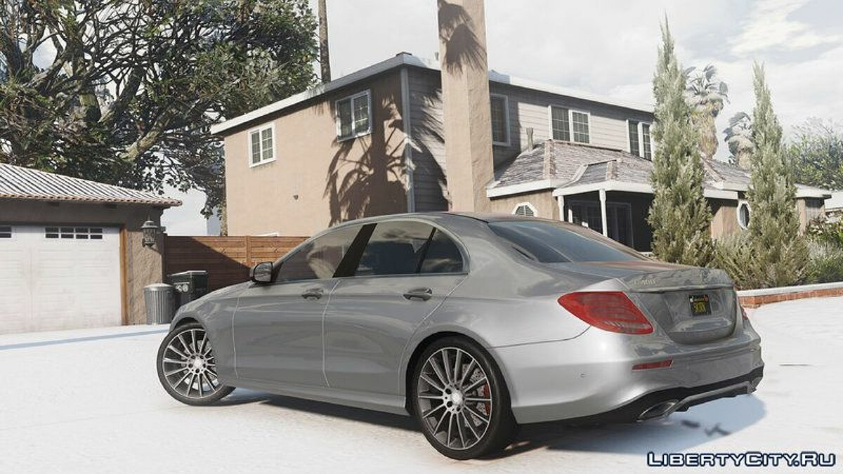 2017 Mercedes E400 W213 [Add-on / Replace] для GTA 5 - скриншот #4
