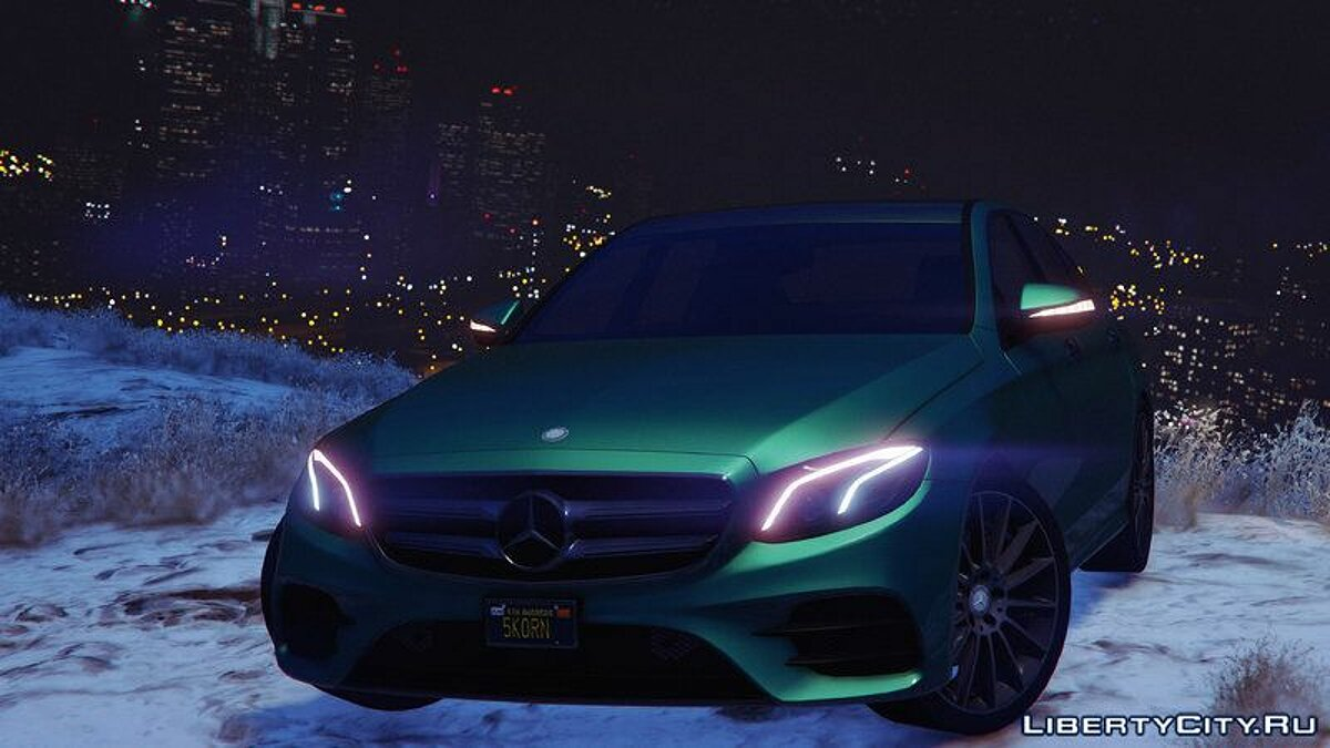 2017 Mercedes E400 W213 [Add-on / Replace] для GTA 5 - скриншот #8