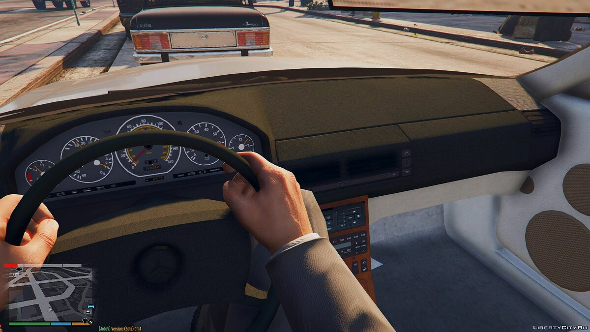 1989 Mercedes-Benz 500 SL для GTA 5 - скриншот #2