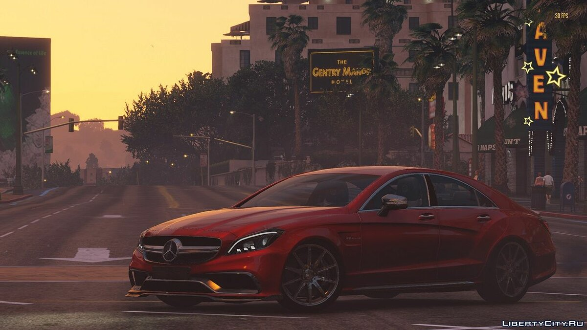 Машина Mercedes-Benz 2015 Mercedes Benz CLS63s AMG [Add-On] 1.1 для GTA 5