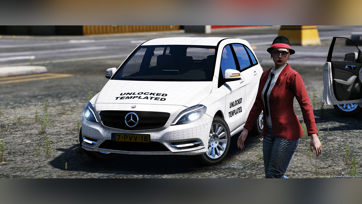 Mercedes-Benz B-Klasse [Unlocked] 1.1 для GTA 5 - скриншот #4