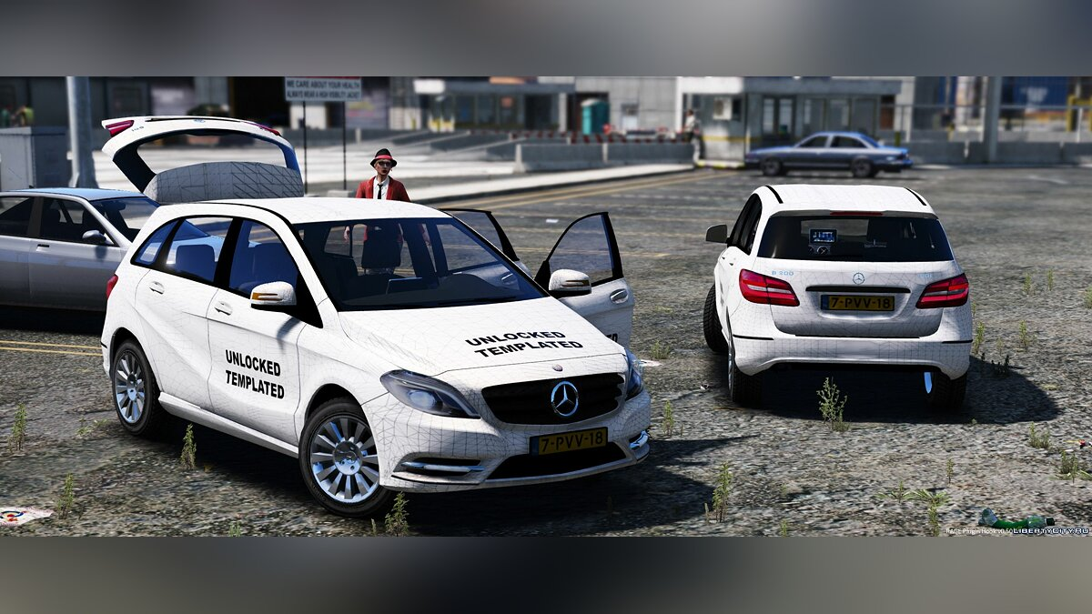 Mercedes-Benz B-Klasse [Unlocked] 1.1 для GTA 5