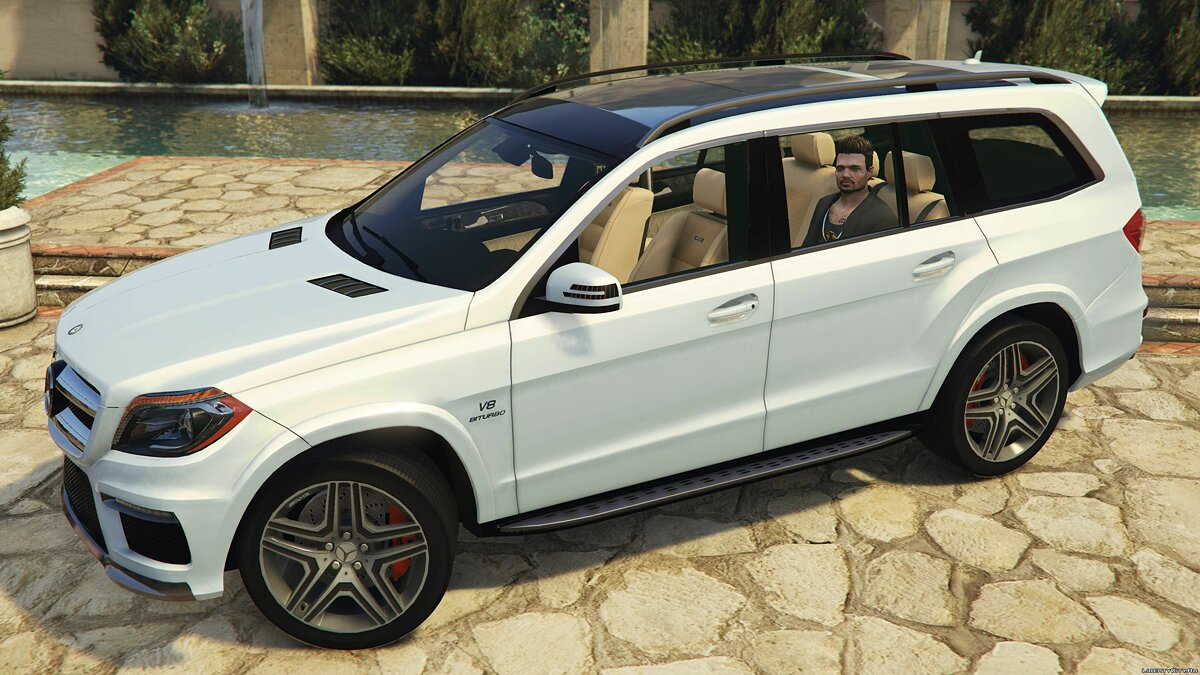 Mercedes-Benz GL63 AMG (Add-on / Replace) v1.1 для GTA 5 - Картинка #1