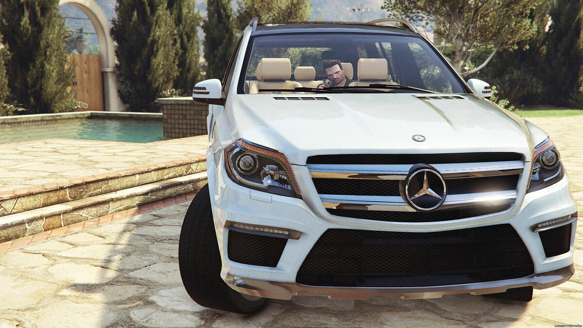 Mercedes-Benz GL63 AMG (Add-on / Replace) v1.1 для GTA 5 - Картинка #3
