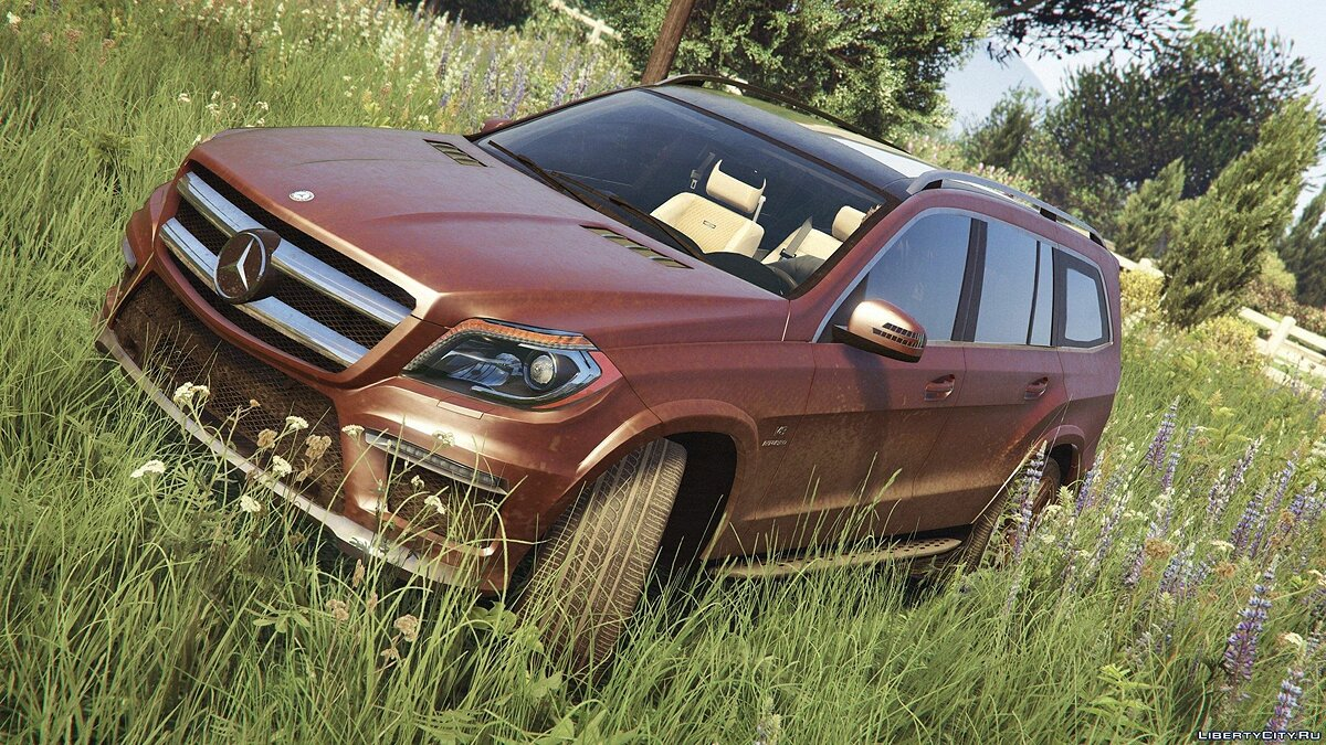 Mercedes-Benz GL63 AMG (Add-on / Replace) v1.1 для GTA 5 - Картинка #4
