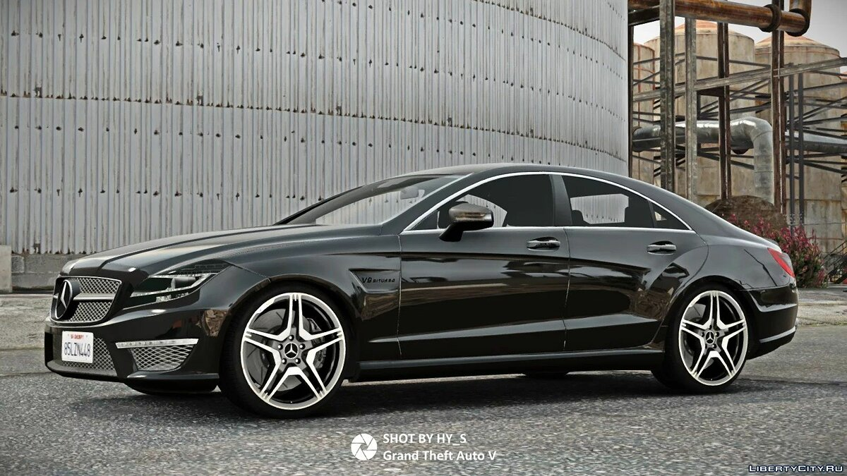 Машина Mercedes-Benz 2012 Mercedes-Benz CLS63 AMG [Add-On] 1.2 для GTA 5