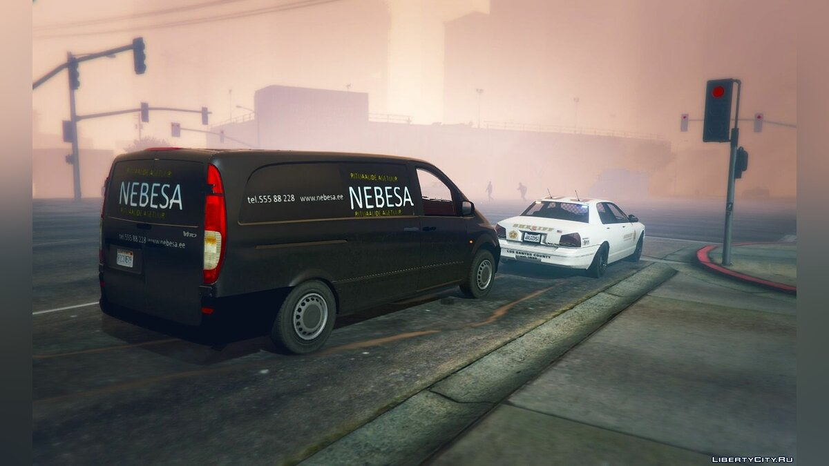 Машина Mercedes-Benz Mercedes-Benz Vito NEBESA | Estonian church car 1.0 для GTA 5
