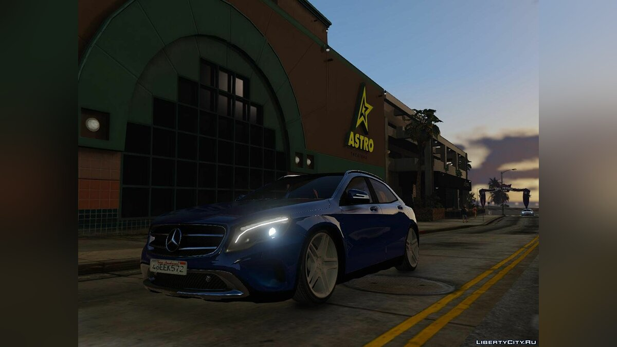 Mercedes-Benz GLA 220 CDI [Replace] 1.1 для GTA 5