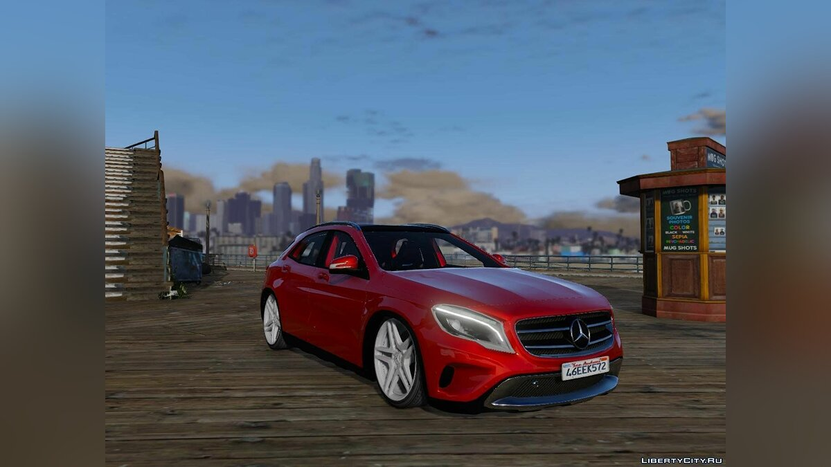 Mercedes-Benz GLA 220 CDI [Replace] 1.1 для GTA 5 - скриншот #3