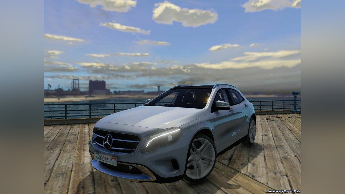 Mercedes-Benz GLA 220 CDI [Replace] 1.1 для GTA 5 - скриншот #5