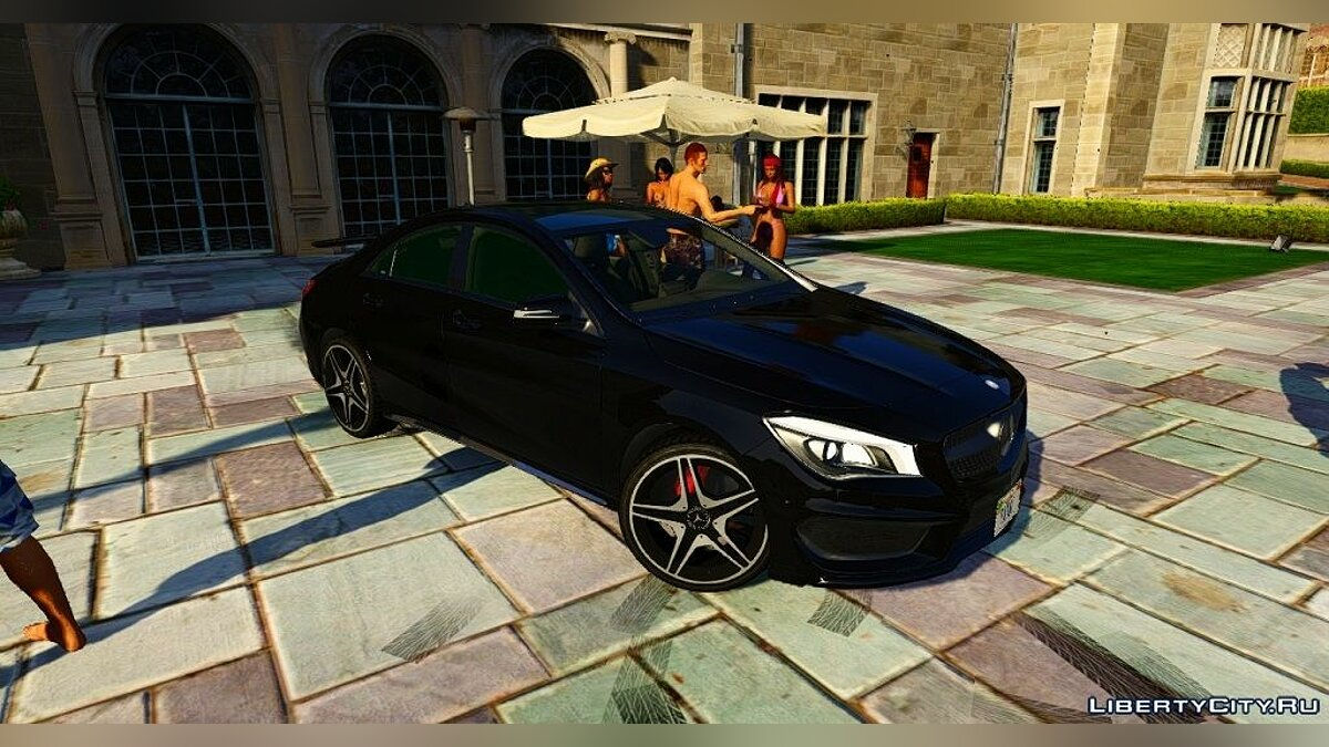 Mercedes-Benz CLA 250 для GTA 5