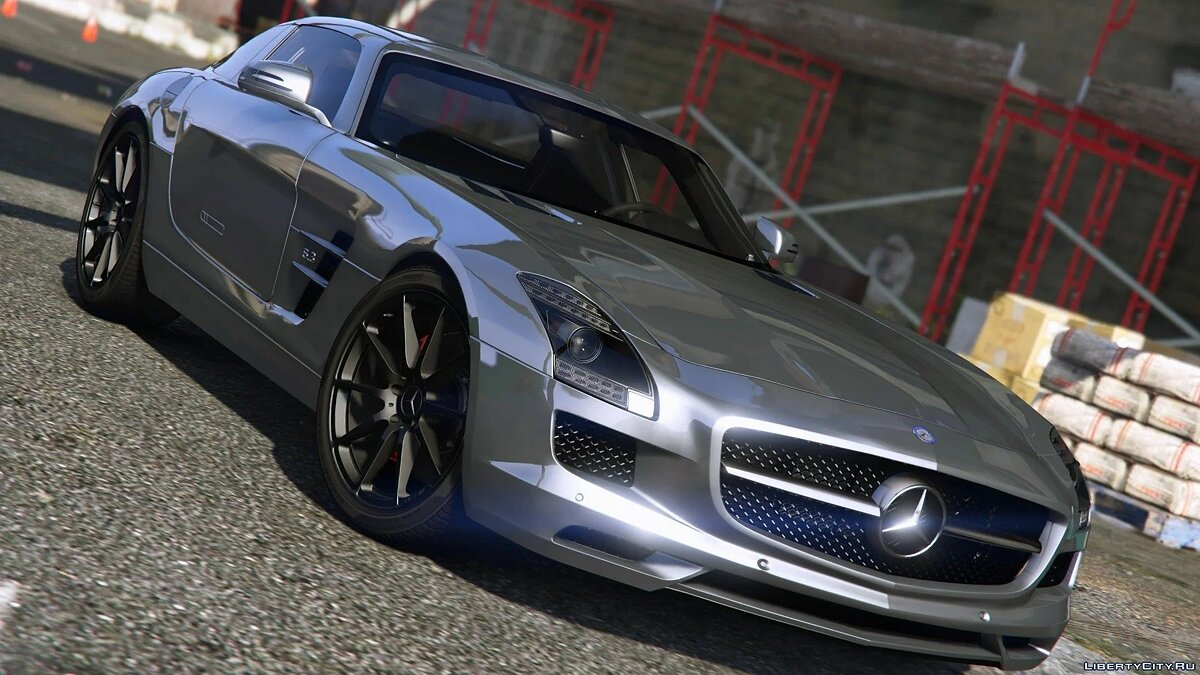 Машина Mercedes-Benz Mercedes-Benz SLS AMG [Add-On / Replace | Template] 3.0 для GTA 5