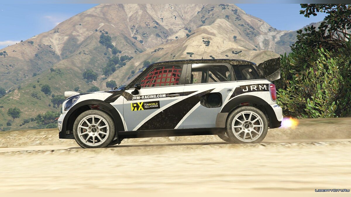 ��ашина Mini Mini Countryman Rallycross [Add-On | Livery] 1.0 для GTA 5