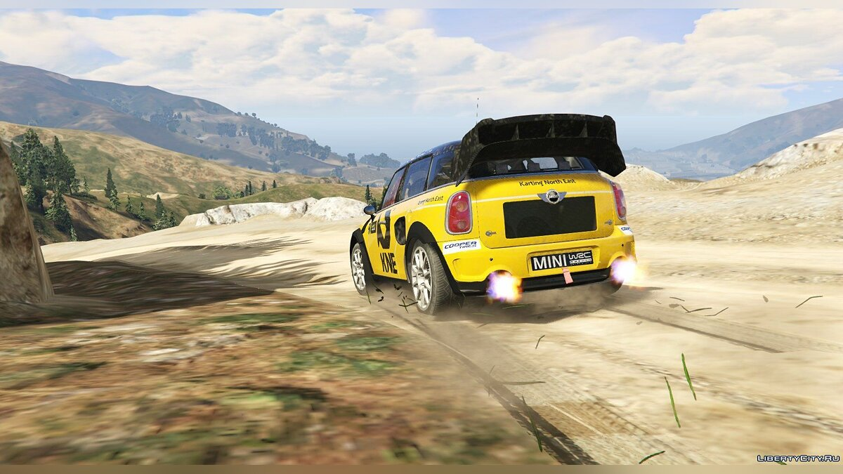 Машина Mini Mini Countryman Rallycross [Add-On | Livery] 1.0 для GTA 5