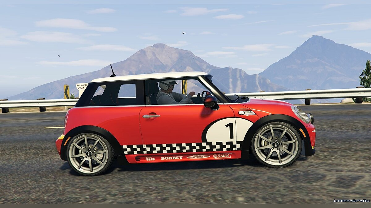 Mini JCW F56/R56 GP (2in1) [Add-On | Tuning | Livery] 1.3 для GTA 5 - Картинка #7
