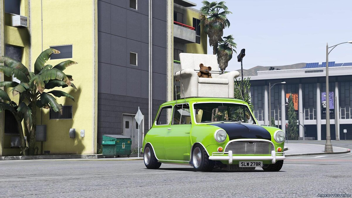 Mr. Bean Mini Cooper [Add-On / Replace] для GTA 5