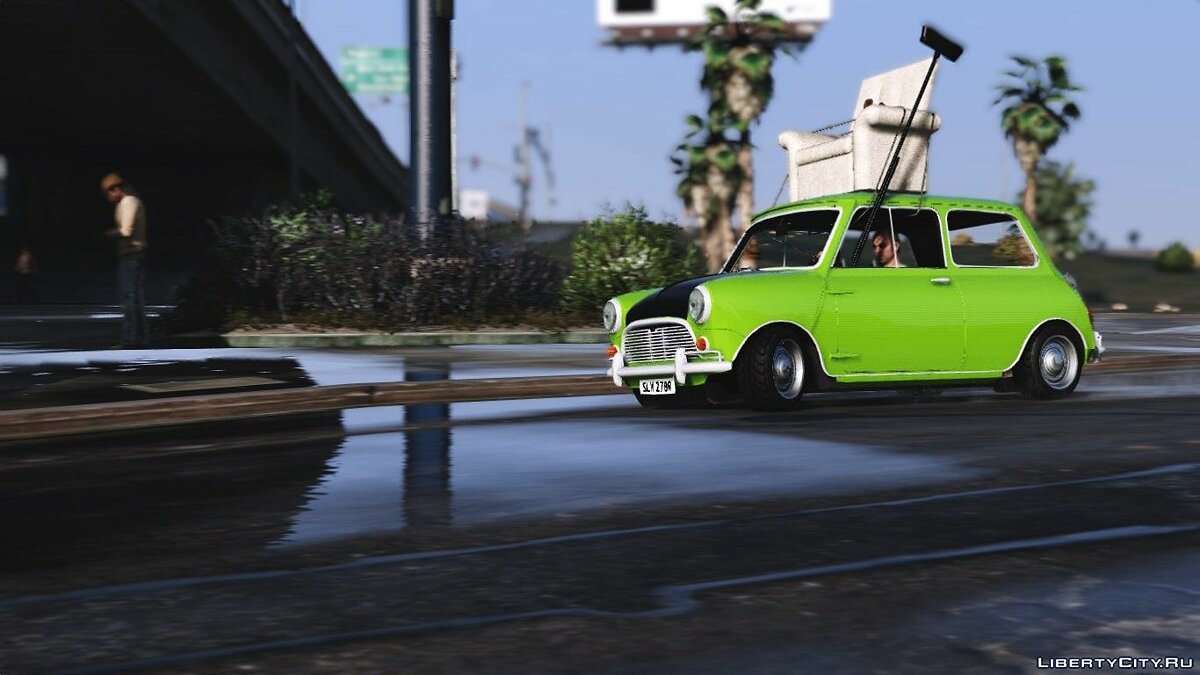 Mr. Bean Mini Cooper [Add-On / Replace] для GTA 5 - скриншот #6