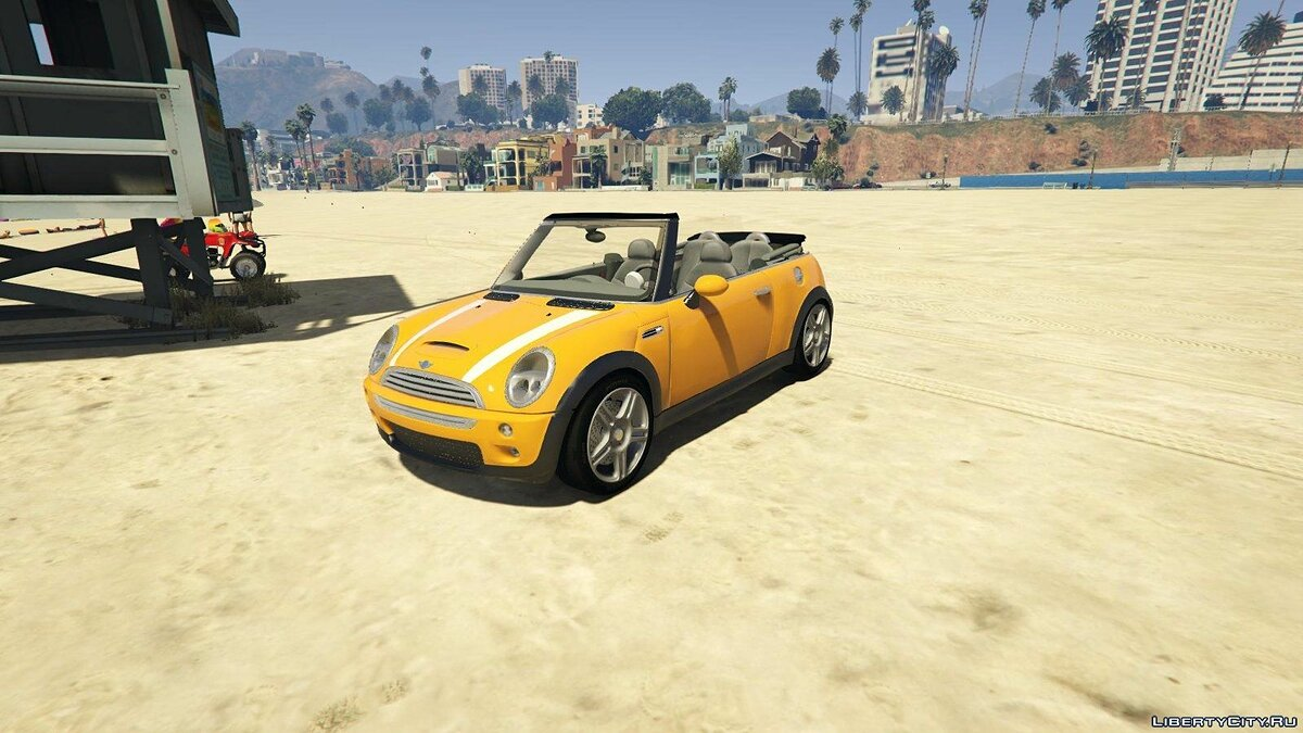 Машина Mini Mini Cooper S Convertible BETA 0.1 для GTA 5