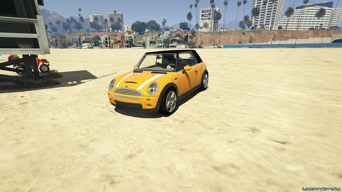 Mini Cooper S Convertible BETA 0.1 для GTA 5 - скриншот #7