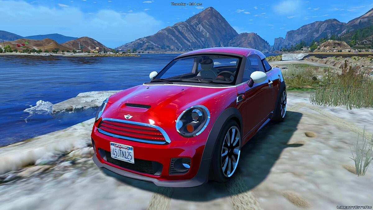 Mini Cooper S Roadster (Add-on/Replace) 1.0 для GTA 5