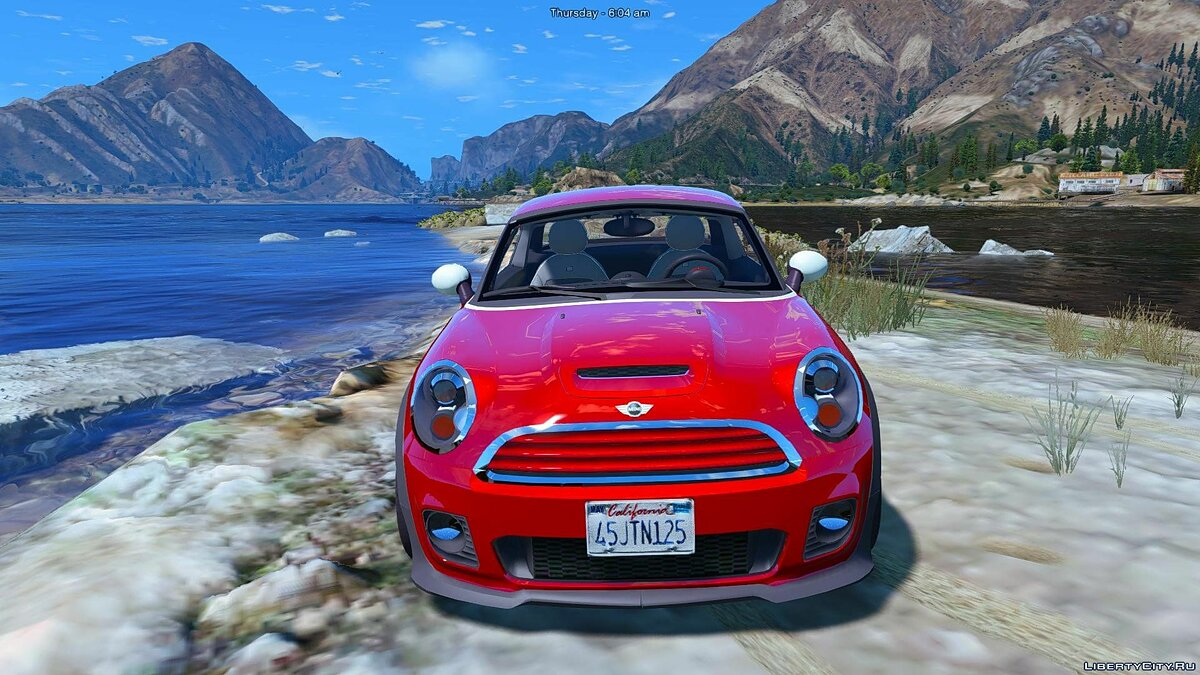 Машина Mini Mini Cooper S Roadster (Add-on/Replace) 1.0 для GTA 5