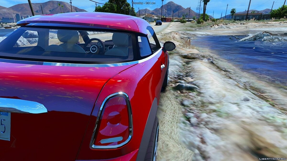 Mini Cooper S Roadster (Add-on/Replace) 1.0 для GTA 5 - скриншот #4