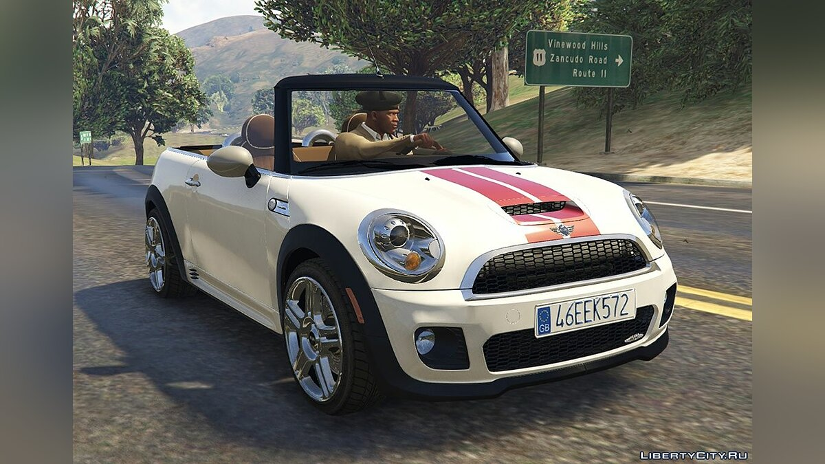 Машина Mini Mini R57 JCW Convertible (4in1) [Add-On | Tuning | Livery] 1.61 для GTA 5