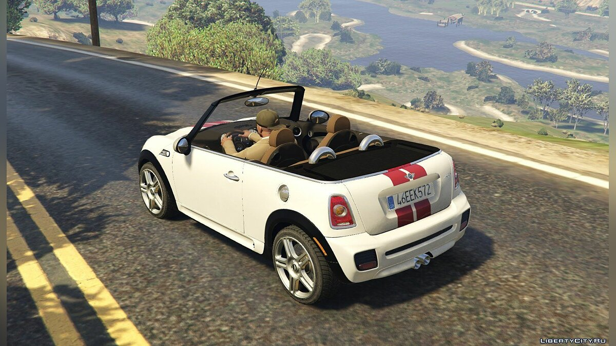 ��ашина Mini Mini R57 JCW Convertible (4in1) [Add-On | Tuning | Livery] 1.61 для GTA 5