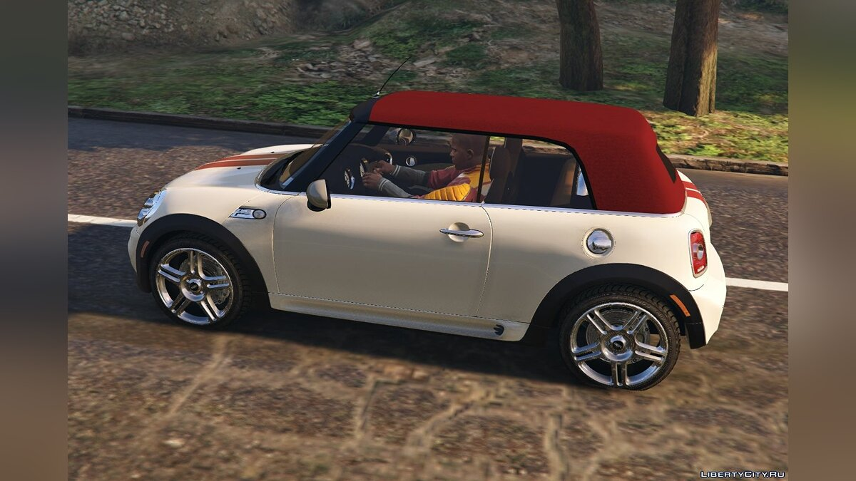 Mini JCW R57 Cabrio [Add-On | Tuning | Livery] 1.1 для GTA 5 - скриншот #2