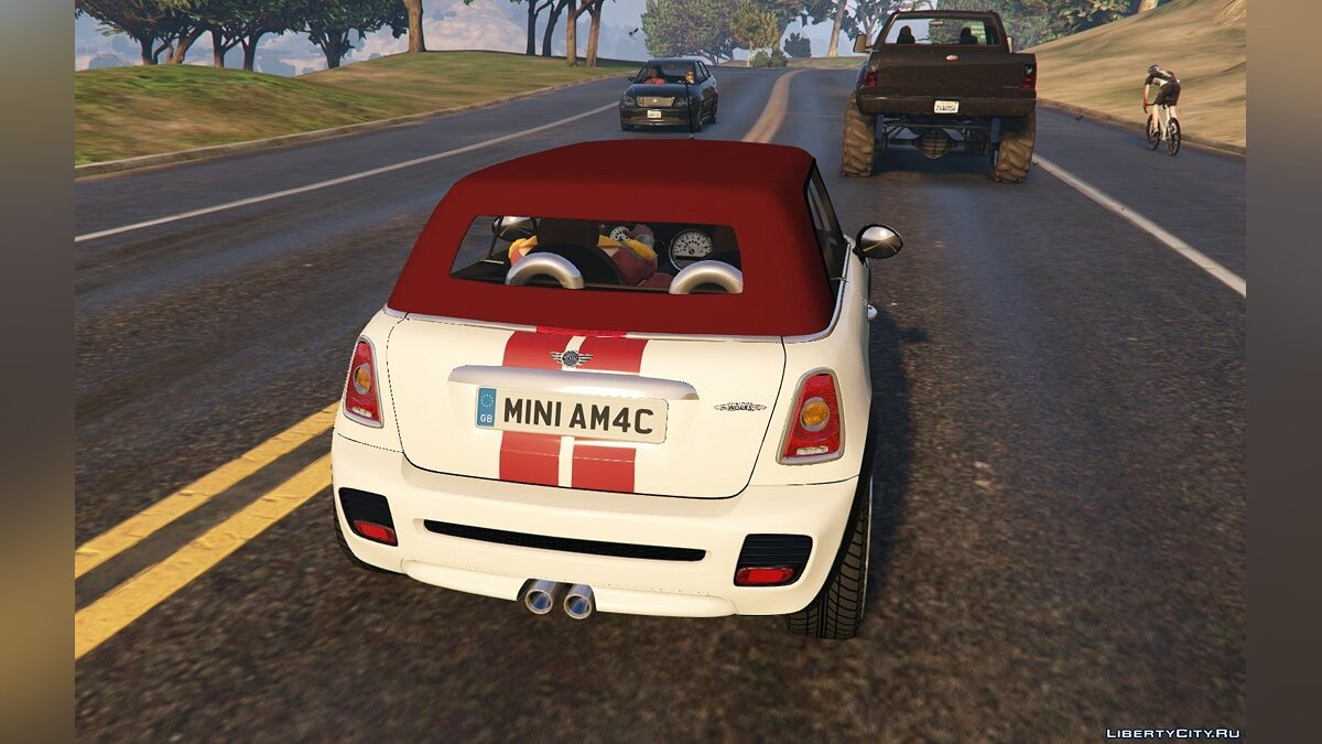 Mini JCW R57 Cabrio [Add-On | Tuning | Livery] 1.1 для GTA 5 - скриншот #3