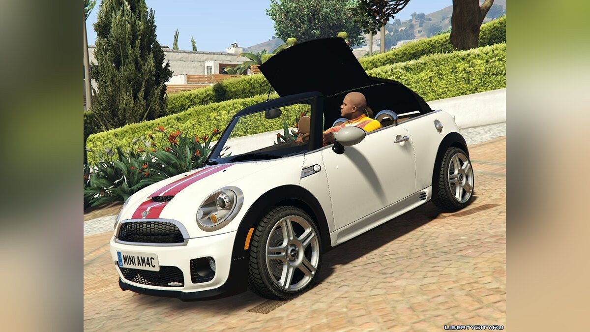Mini JCW R57 Cabrio [Add-On | Tuning | Livery] 1.1 для GTA 5 - скриншот #4