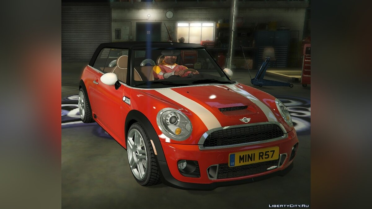 Mini JCW R57 Cabrio [Add-On | Tuning | Livery] 1.1 для GTA 5 - скриншот #5