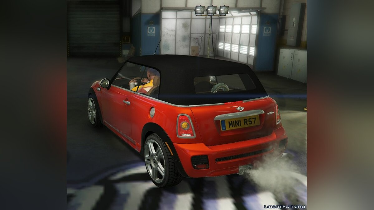 Mini JCW R57 Cabrio [Add-On | Tuning | Livery] 1.1 для GTA 5 - скриншот #6