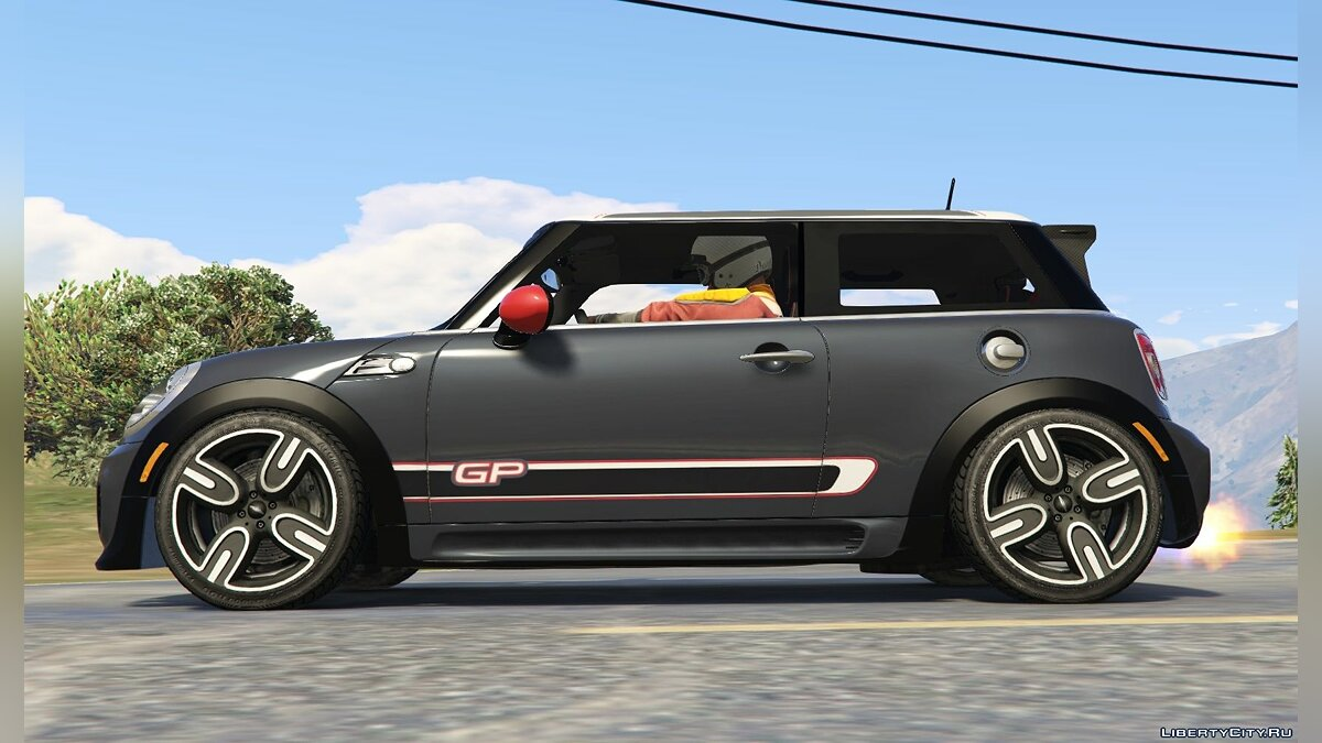 Mini JCW F56/R56 GP [Add-On | Tuning | Livery] 1.0 для GTA 5 - скриншот #2