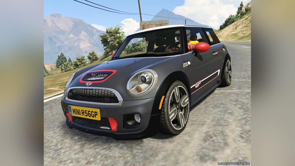 Mini JCW F56/R56 GP [Add-On | Tuning | Livery] 1.0 для GTA 5