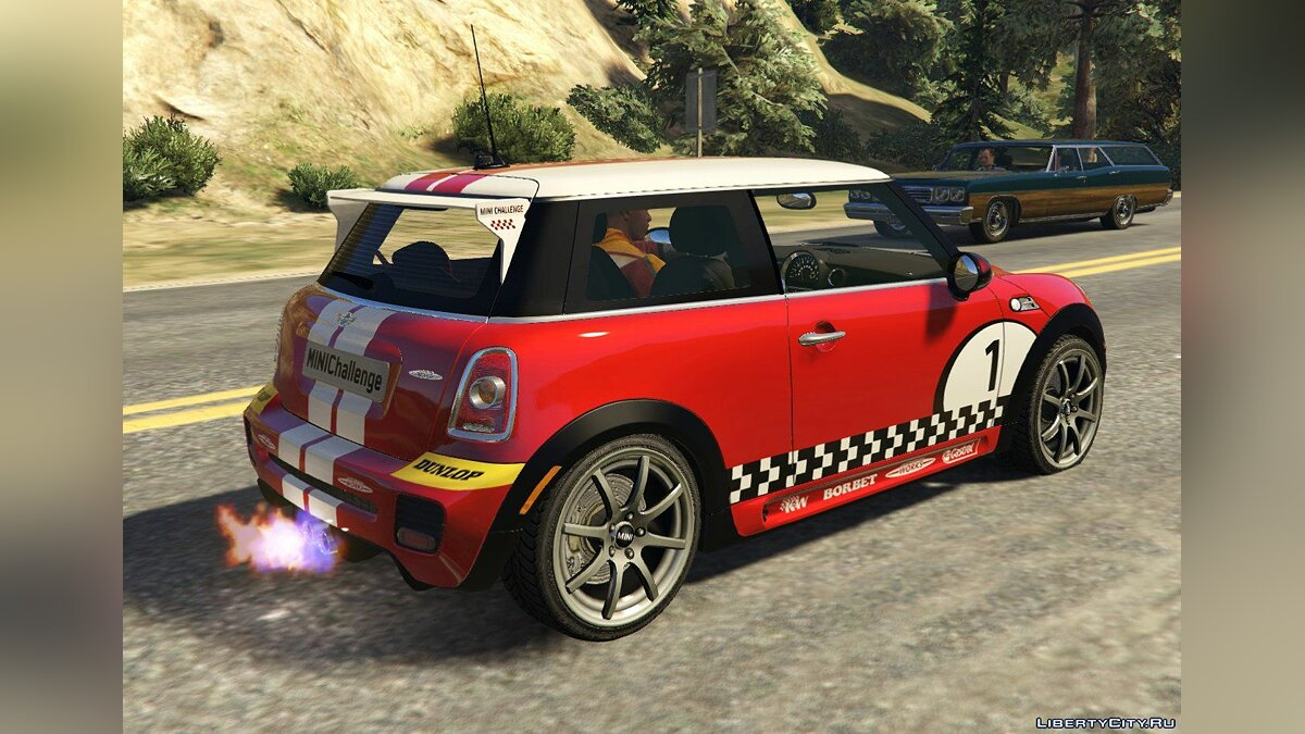 Mini JCW F56/R56 GP [Add-On | Tuning | Livery] 1.0 для GTA 5 - скриншот #3
