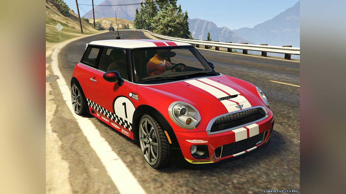 Mini JCW F56/R56 GP [Add-On | Tuning | Livery] 1.0 для GTA 5 - скриншот #6