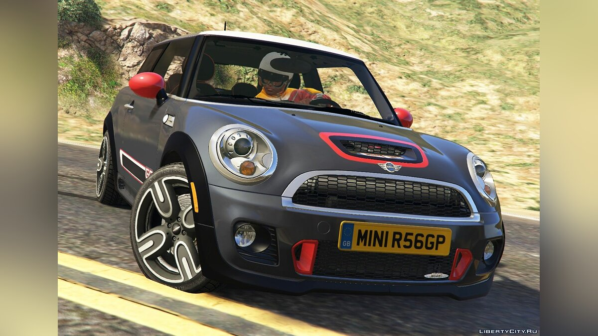 Mini JCW F56/R56 GP [Add-On | Tuning | Livery] 1.0 для GTA 5 - скриншот #8