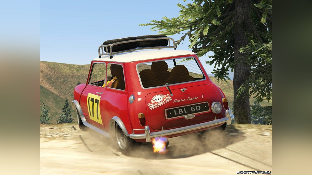 Austin Mini Cooper S 1965 Rally [Add-On | Tuning | Livery] 0.93 для GTA 5 - скриншот #2