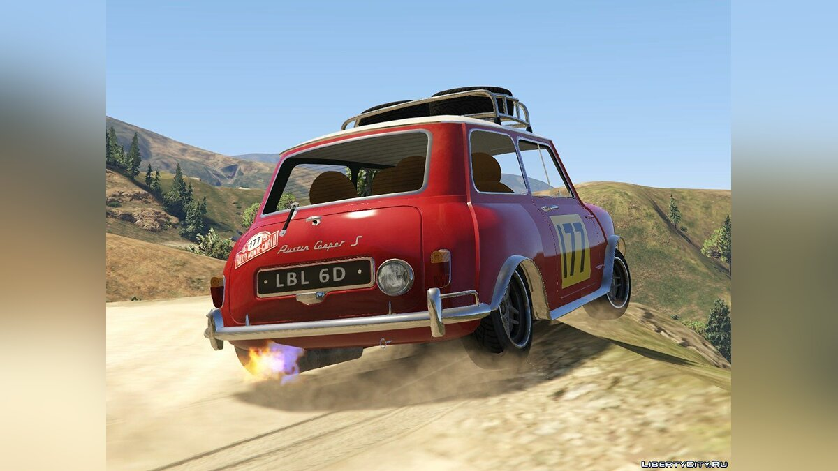 Austin Mini Cooper S 1965 Rally [Add-On | Tuning | Livery] 0.93 для GTA 5 - скриншот #4