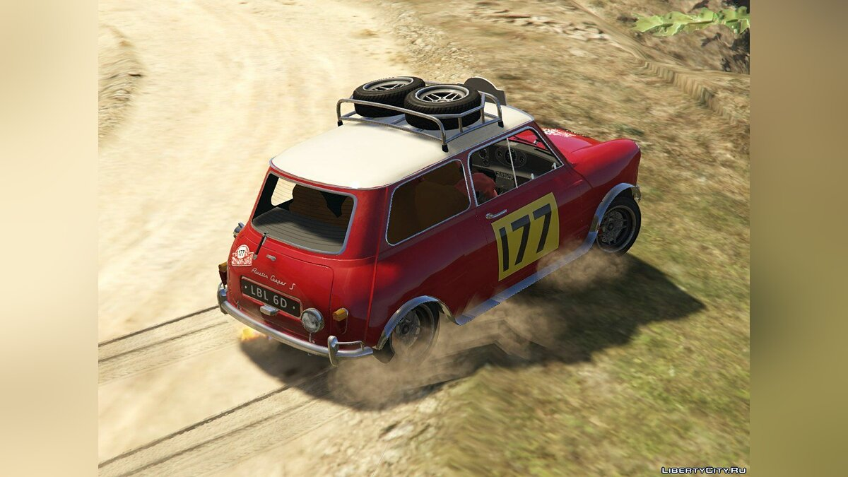 Austin Mini Cooper S 1965 Rally [Add-On | Tuning | Livery] 0.93 для GTA 5 - скриншот #5