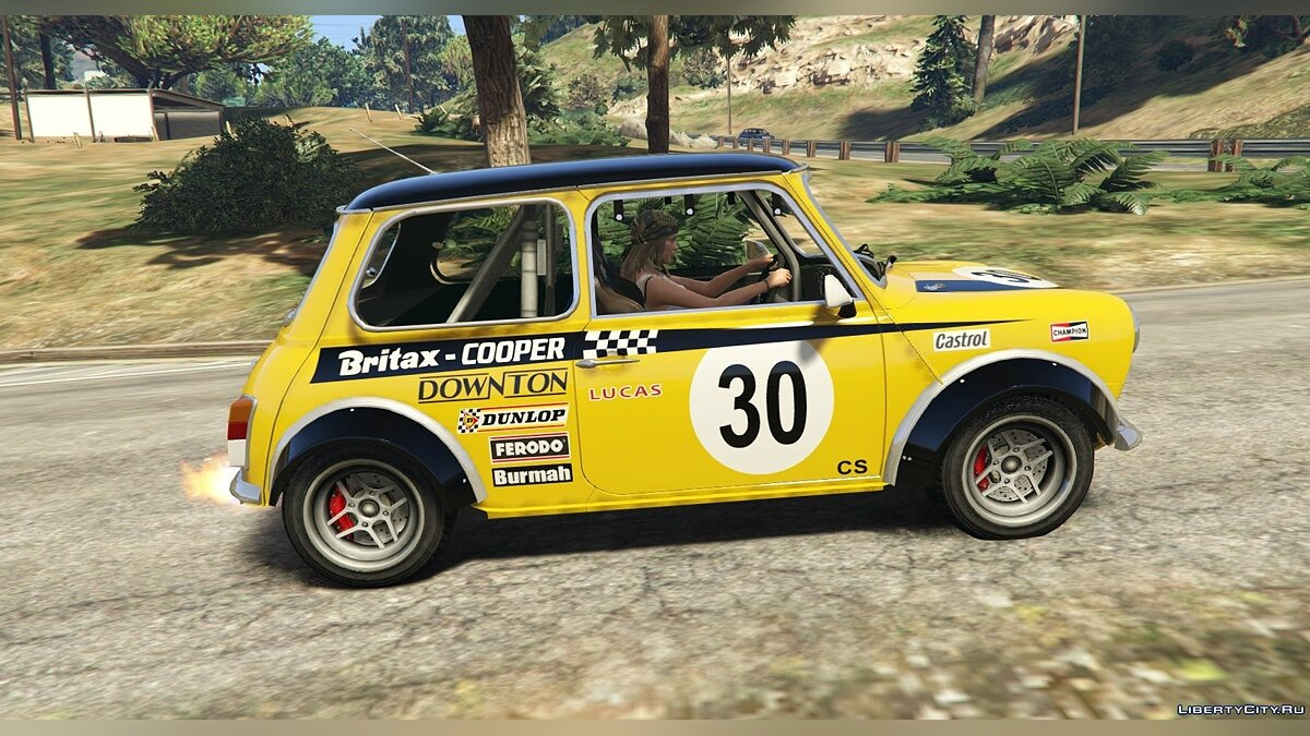 Mini Cooper S Mk2/Mk7 Miglia [Add-On | Tuning | Livery] 1.6 для GTA 5 - скриншот #3