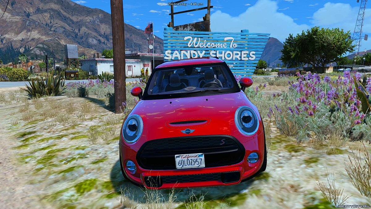 ��ашина Mini 2015 Mini Cooper S (Add-on/Remplace) 1.0 для GTA 5