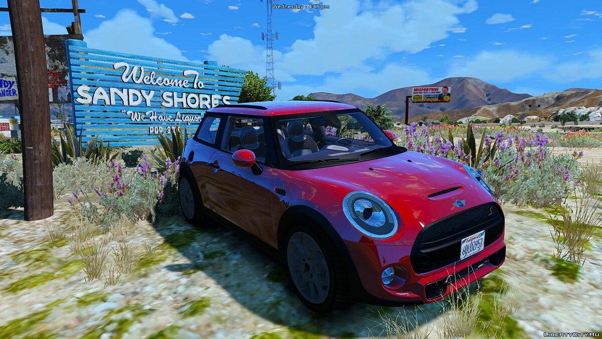 Машина Mini 2015 Mini Cooper S (Add-on/Remplace) 1.0 для GTA 5