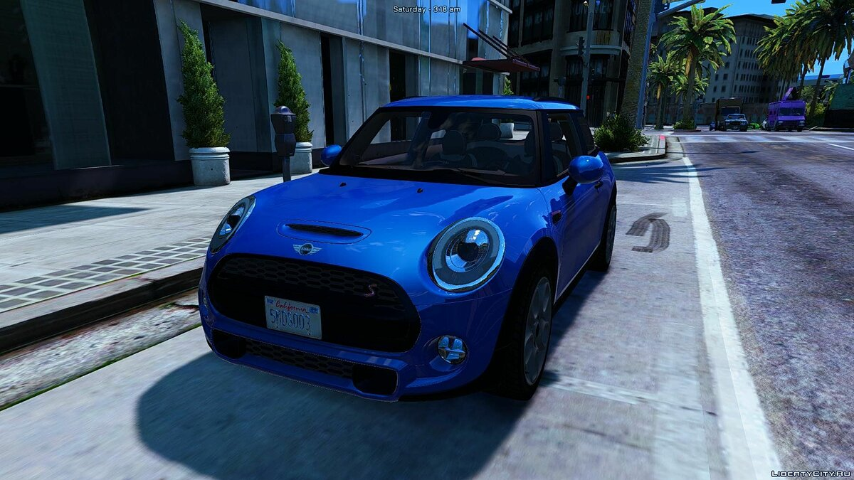 Машина Mini 2015 Mini Cooper S (Add-on/Replace) 1.1 для GTA 5