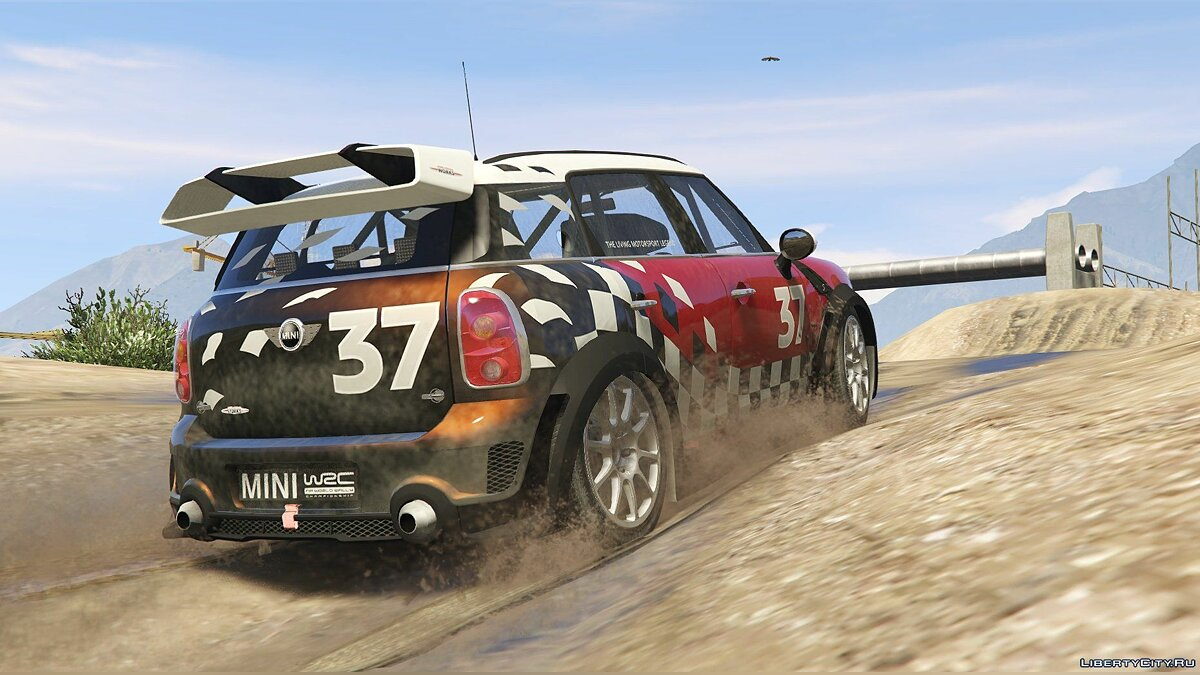 Машина Mini Mini R60 Countryman (3in1) [Add-On / Replace | Tuning | Livery] 1.4 для GTA 5