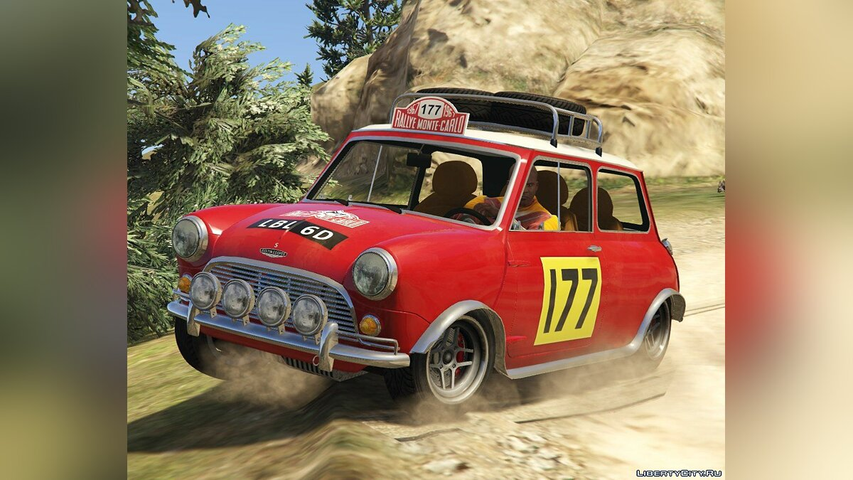Машина Mini Austin Mini Cooper S 1965 Rally [Add-On | Tuning | Livery] 0.91 для GTA 5